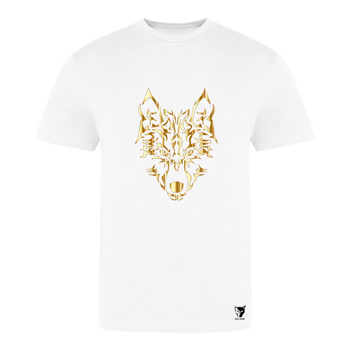 WOLF Printed T-shirt GOLD