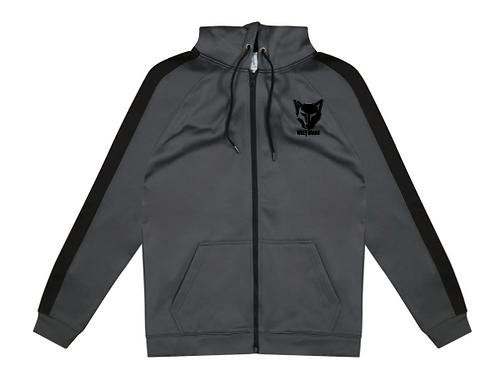 WOLFBRAND Zip Hoodie (Charcoal/BLK)