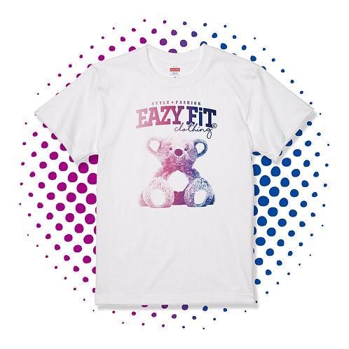 テディプリントTシャツ