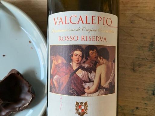 On boit un coup ? Valcalepio 2013 Rosso riserva Locatelli Caffi