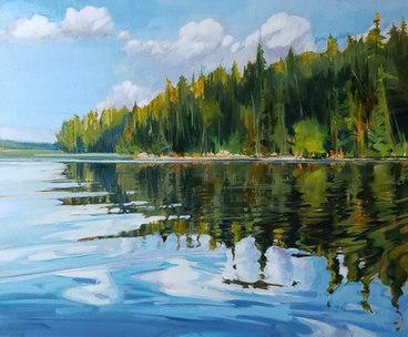 SOLD North Shore - Pinehurst Lake 24x20