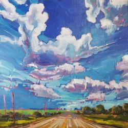 Gravel roads and big skies
