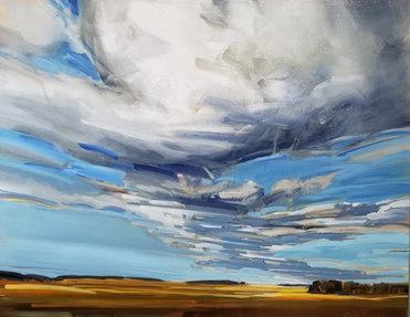 Prairie Sky 24x30 $1360