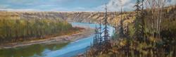 Red Deer River Valley