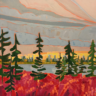 Nunavut Sunset SOLD