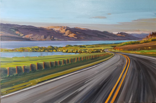 SOLD Travelling Boucherie Road 24 x 36