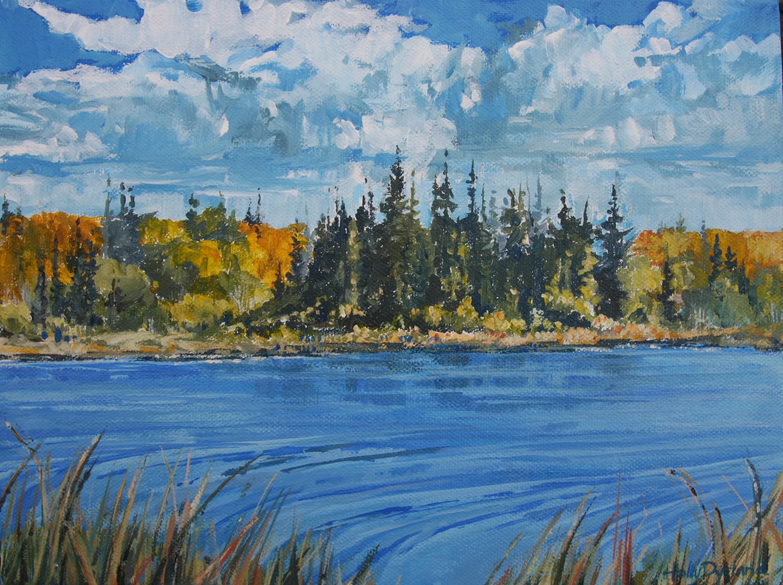 Fall at Hastings Lake