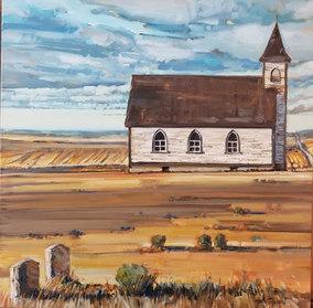 """Prairie Heritage 20""""x20"""" $780.00"""