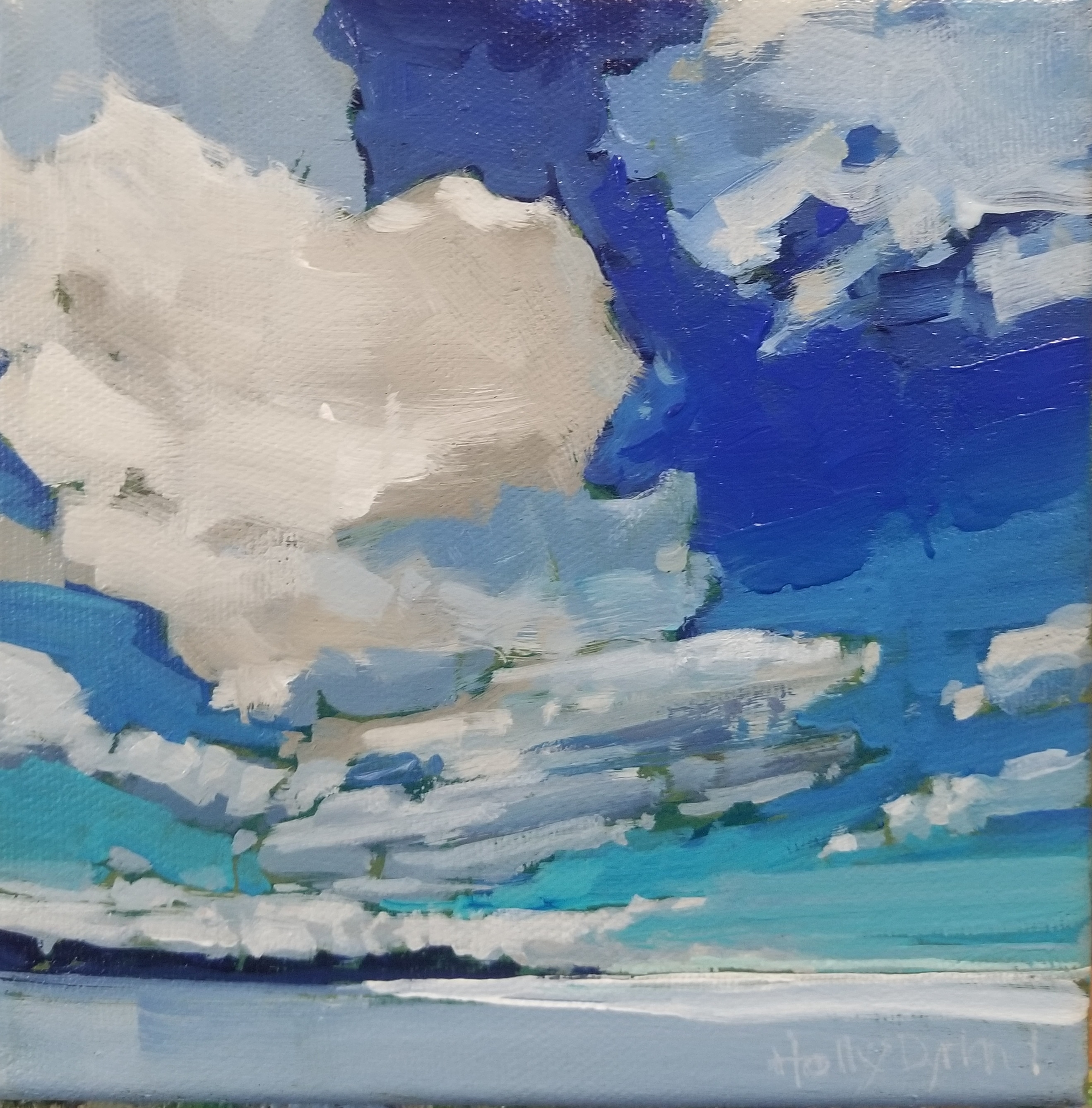 Cobalt Skies