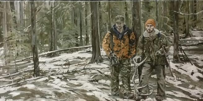 Two Hunters