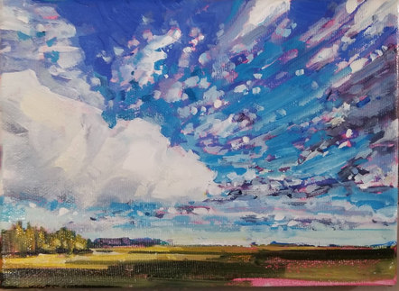 Brilliant Sky 5_x7_ SOLD