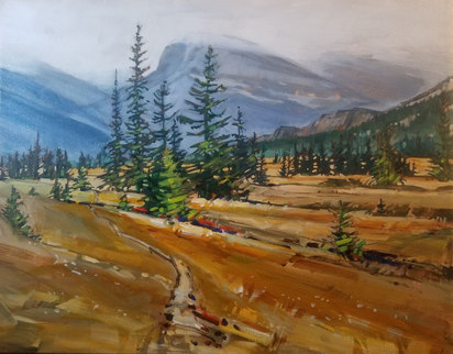 "Nordegg Country $620.00 14""x18"""