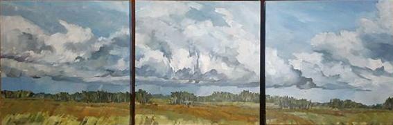 Endless Farmland and Sky