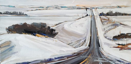 Winter Whites $680 12x24x1.5