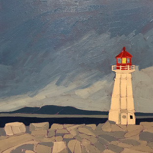 Peggy's Cove Lighthouse SOLD