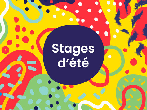 Des stages pour votre enfant cet été