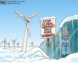 Stop global warming - build more windmil