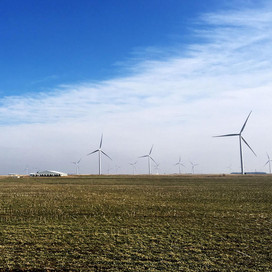 Researcher shares concerns about wind farms, county's future