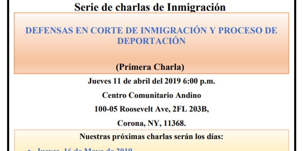 Charla de Inmigración Gratuita