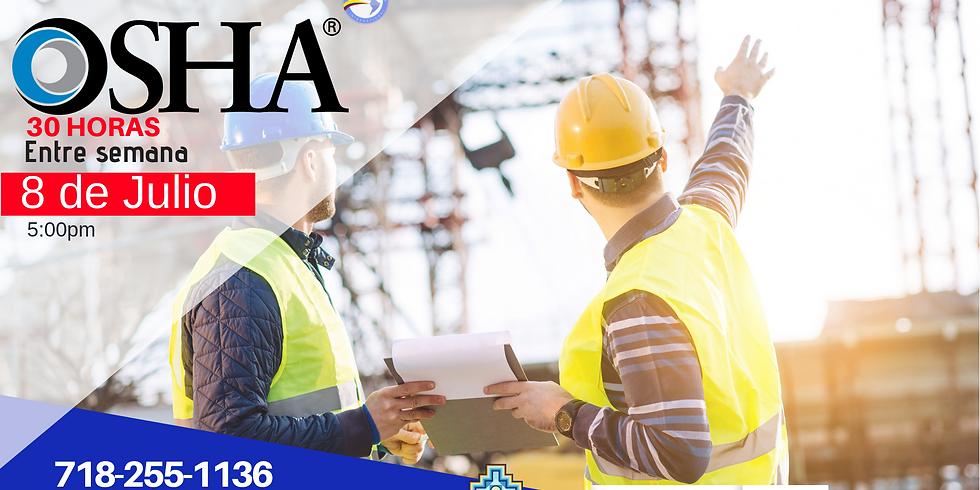 Clases de OSHA 30 Horas - Entre Semana