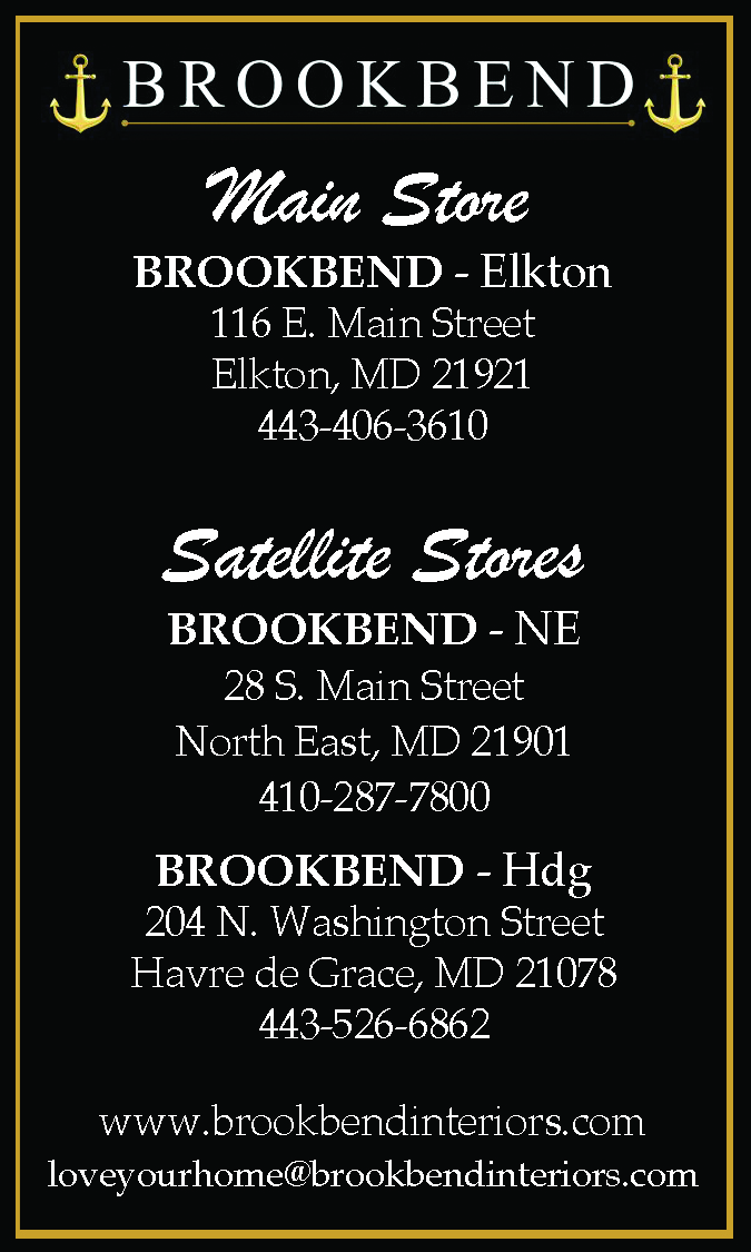 Brookbend Elkton, North East & Havre de Grace