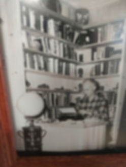 Pyle in his Library den room.jpg