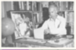 Pyle at his desk.jpg