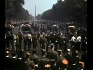 1944 The Liberation of Paris in Color!.m