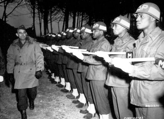 MTO MPs inspected by Gen Joseph T. McNar