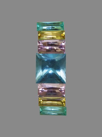 Aquamarine, Morganite, Gold-Beryl, Emerald