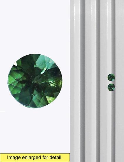 Green Tourmaline 4mm