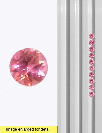 Pink Tourmaline 2.5 mm
