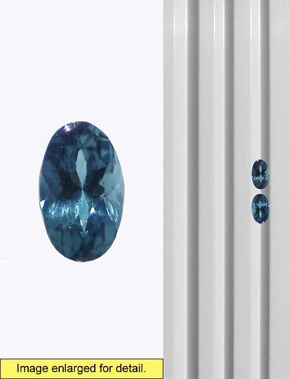 Indicolite Tourmaline 5 x 3 mm