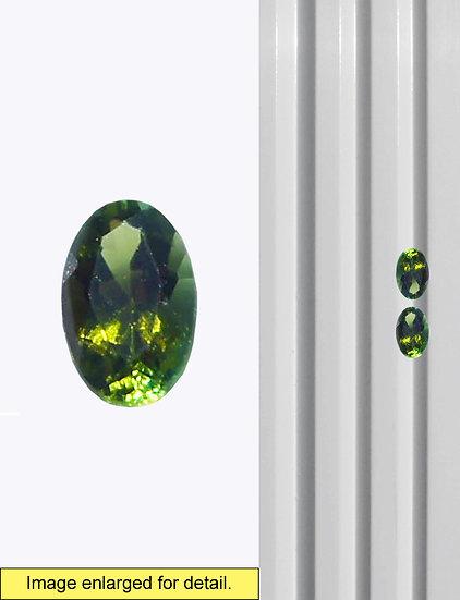 Green Tourmaline 5 x 3 mm