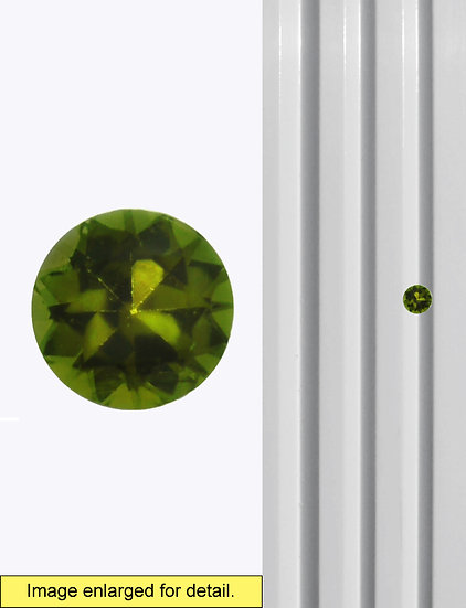 Green Tourmaline 6 mm