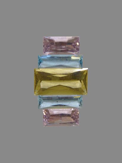 Golden Beryl, Morganite, Aquamarine