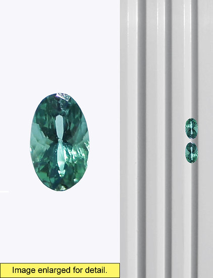 Green Tourmaline 5 x 3 mm