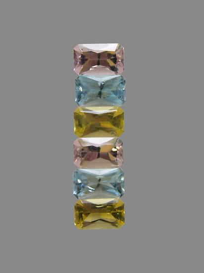Aquamarine, Morganite, Gold-Beryl
