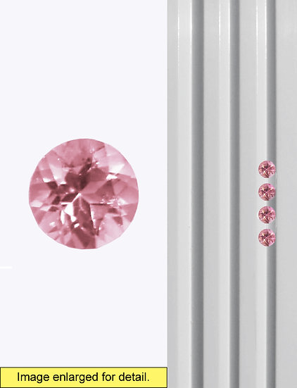 Pink Tourmaline 3.5 mm
