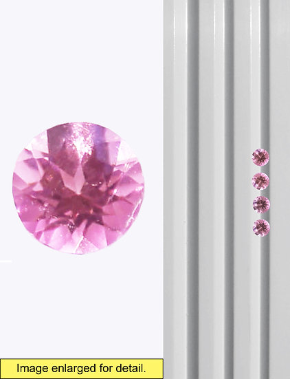 Pink Tourmaline 4 mm