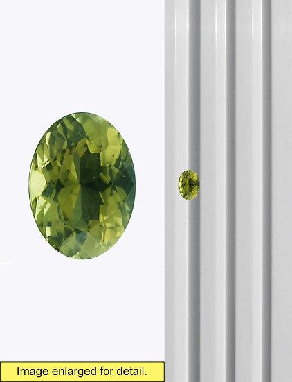 Green Tourmaline 9 x 7 mm