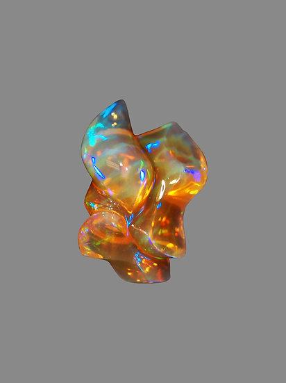 Natural Crystal Opal Carving