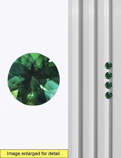 Green Tourmaline 3 mm
