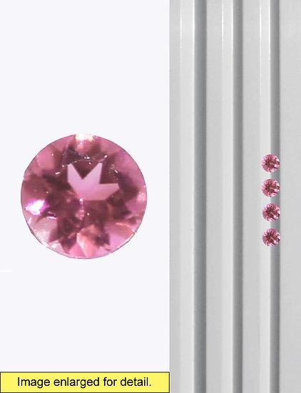 Pink Tourmaline 3 mm
