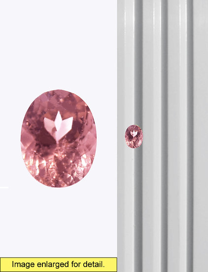 Pink Tourmaline 9 x 7 mm