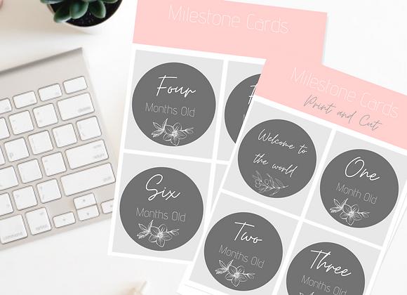 Milestone Cards PDF