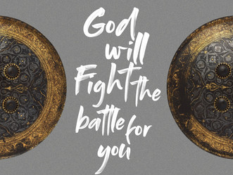 Word of Encouragement - The Battle is His