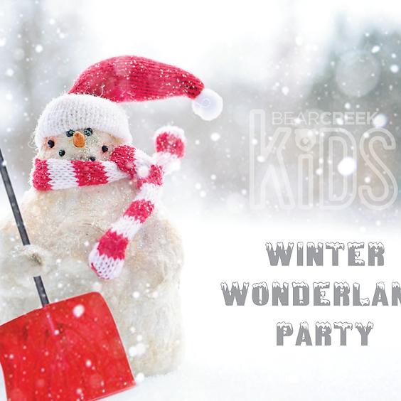 Winter Wonderland Party - Children's Ministry