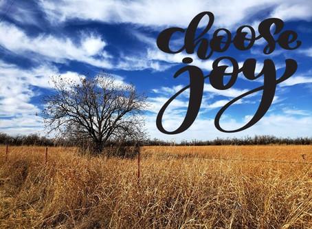 Word of Encouragement: Choose Joy