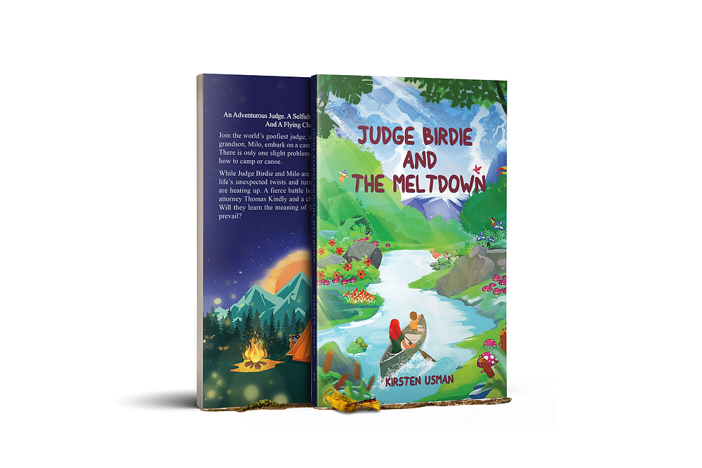 The Golden Rule children's book Judge Birdie and The Meltdown christian book series for kids